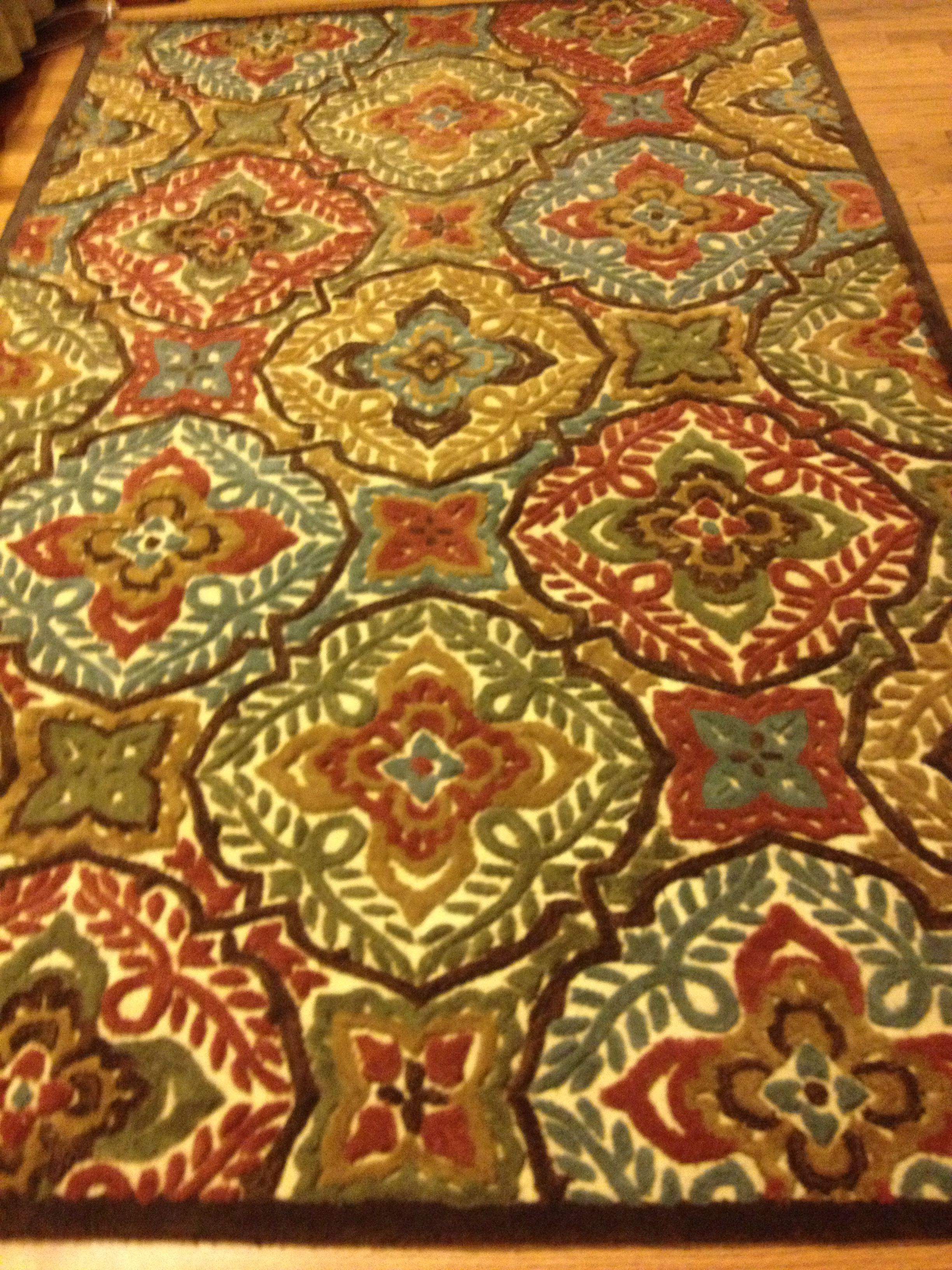 Rug Pier One Kaleidoscope Pmc Pinterest