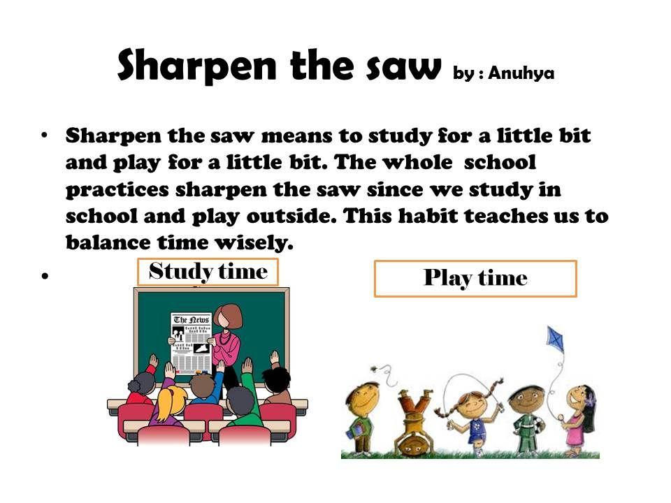 Sharpen the saw | Sharpen the Saw | Pinterest