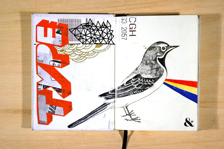 Sketchbook_2009 : Trabalho de Francisco Martins