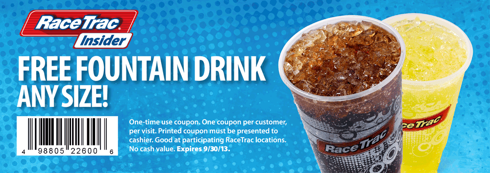 Pinned September 20th: Any size fountain drink free at