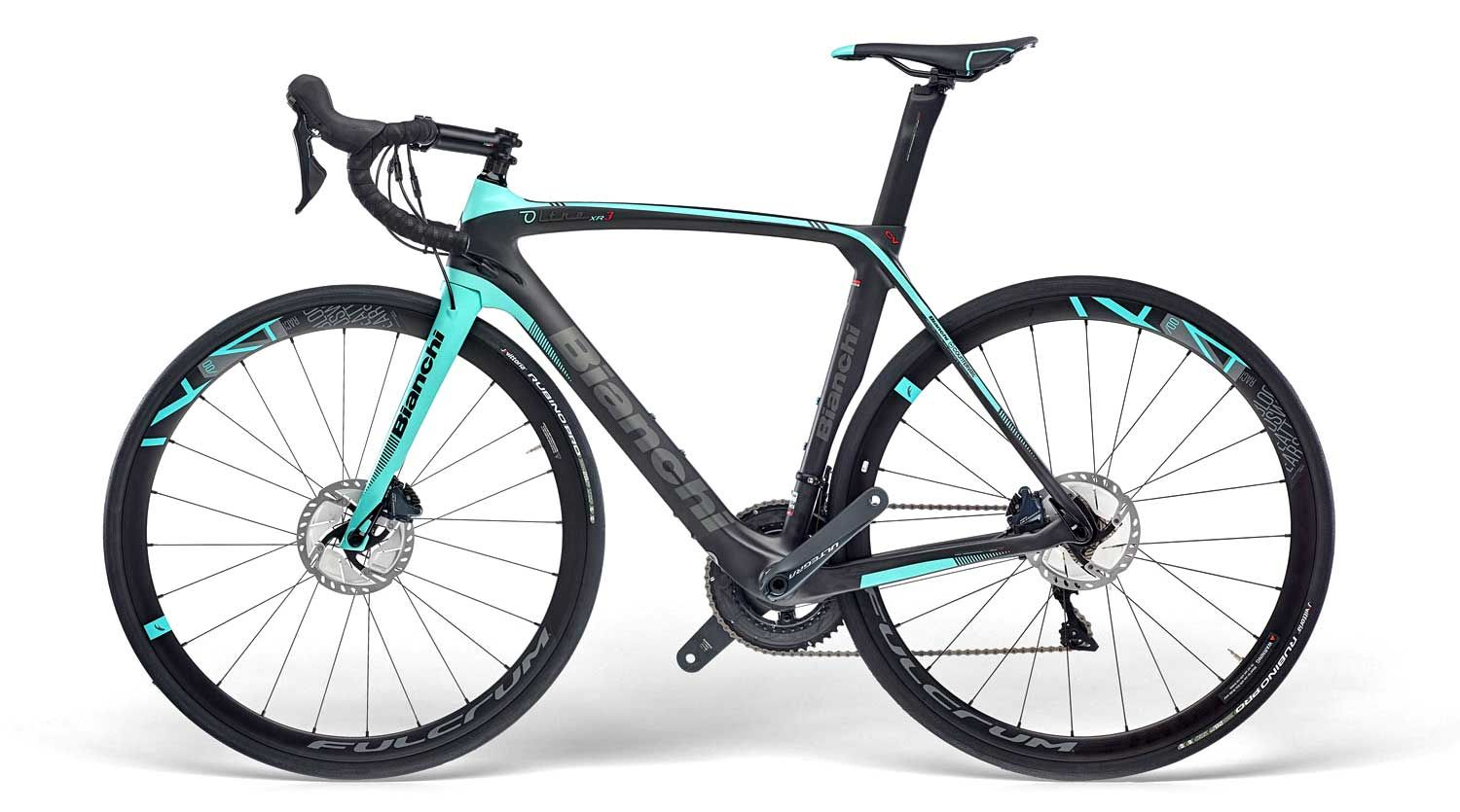 New Bianchi Oltre Xr3 Disc Is Their First Disc Brake Countervail