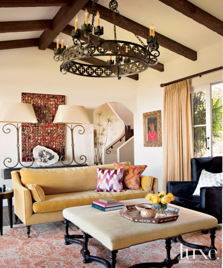 11 Tuscan Transitional Living Room Ideasinterior Design: Neutral Mediterranean Living Room