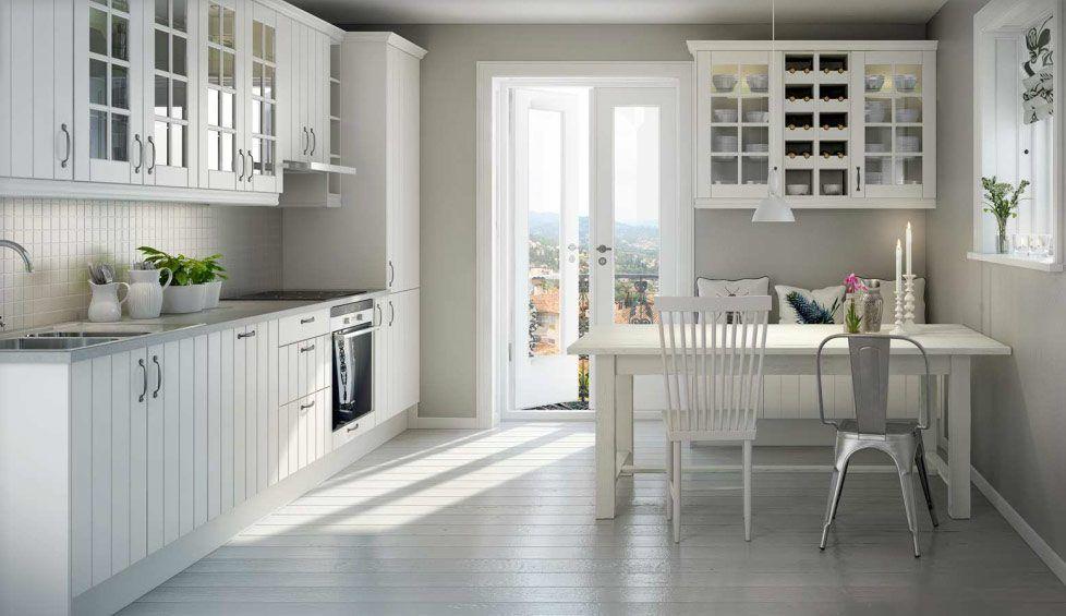 Cocina de decoración nórdica | Cocina | Pinterest | Estilos de ...