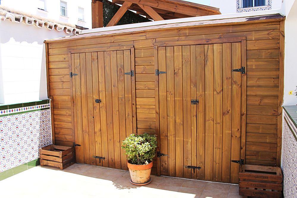 Construye tu cobertizo de madera paso a paso carpinteria - Cobertizo de jardin ...