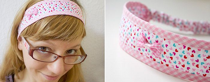 Anleitung Haarband | nähen | Pinterest | Anleitungen, Nähen und ...