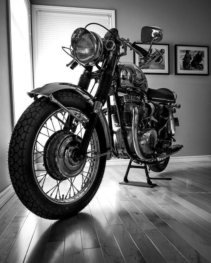 pinterest.com/fra411  #classic #motorbike #BSA