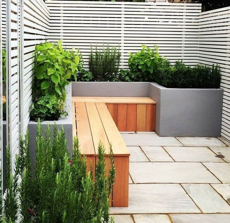21 Awesome Modern Small Terrace Gardening Ideas Can Copy Garden Gardening Gardendesign Small Back Gardens Back Garden Design Garden Design Layout Modern
