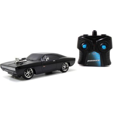 Fast Furious 1970 Dodge Charger Remote Control 1 24 Scale By Jada Toys Walmart Com Jada Toys Toy Car Dodge Charger