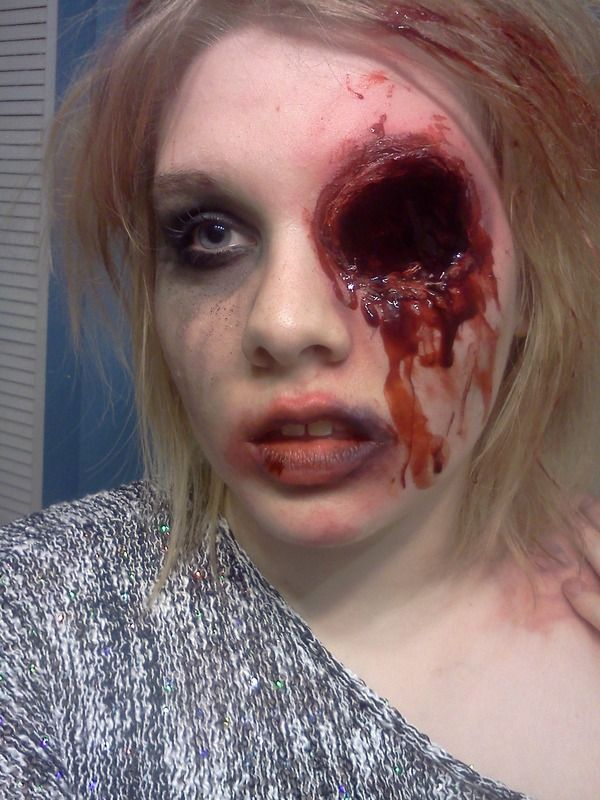 Missing Eye | Makeup | Pinterest | Eye Halloween Costumes 2014 And Sfx Makeup