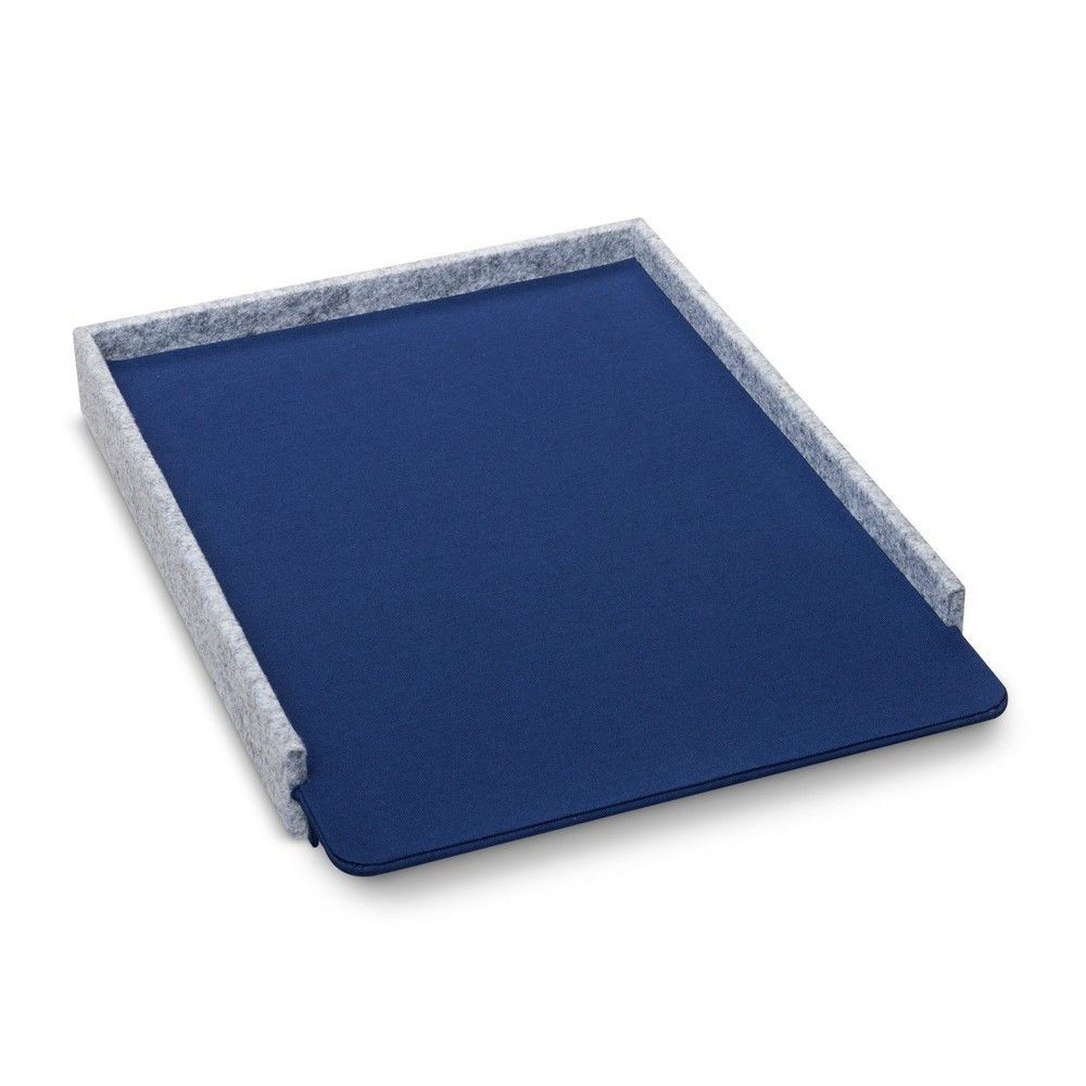 Felt Paper Tray Navy (Blue)   Modern By Dwell Magazine