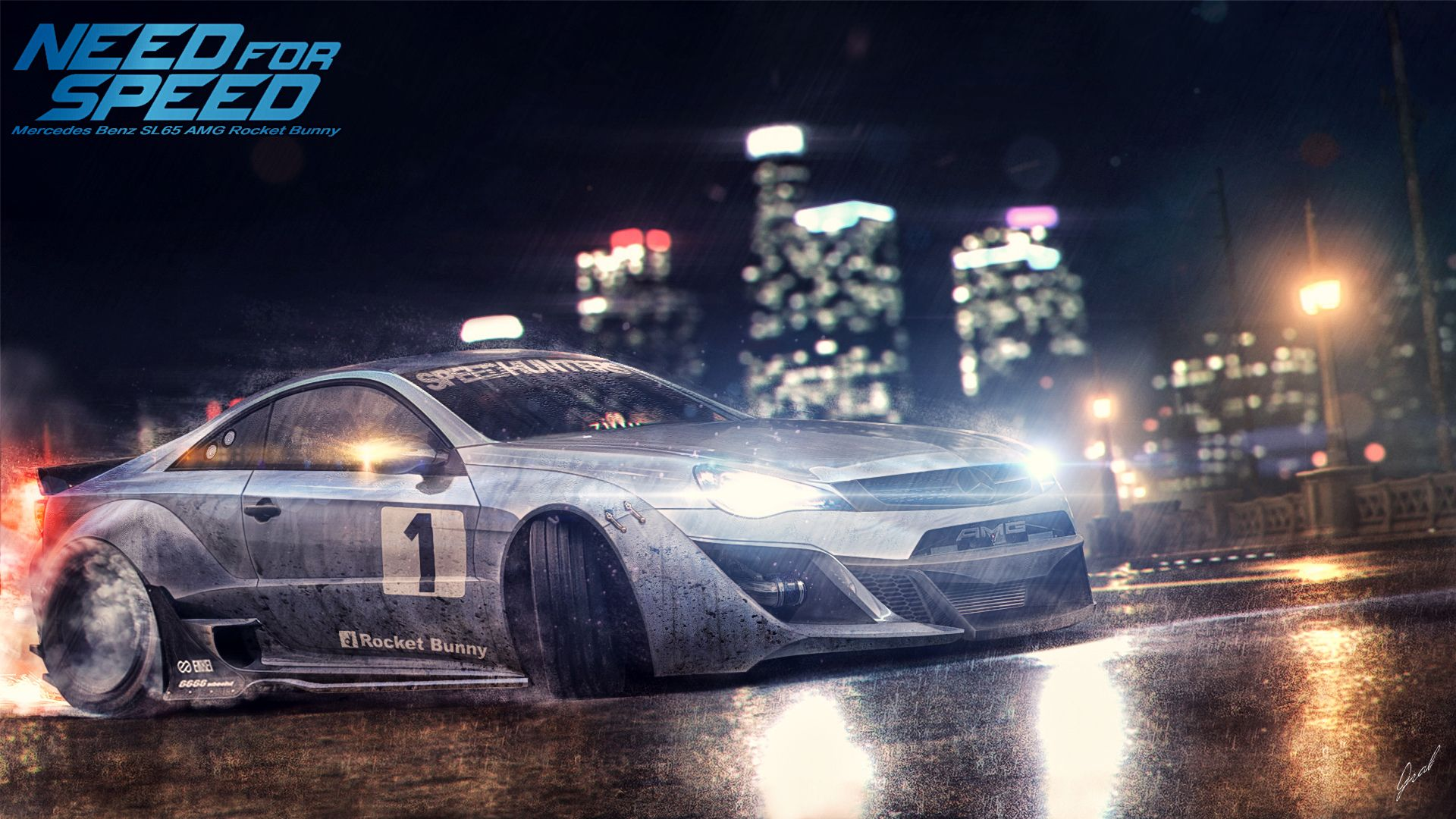 Mercedes Benz SL65 AMG NFS Style by xGrabxviantart on