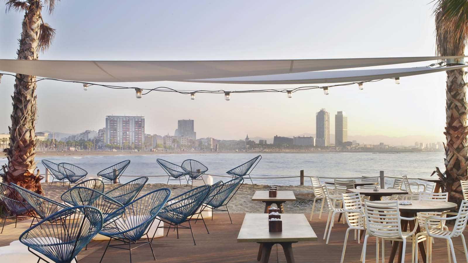 Salt Restaurant Lounge Beach Club W Barcelona Hotel Barcelona Hotels Beach Club Barcelona Beach