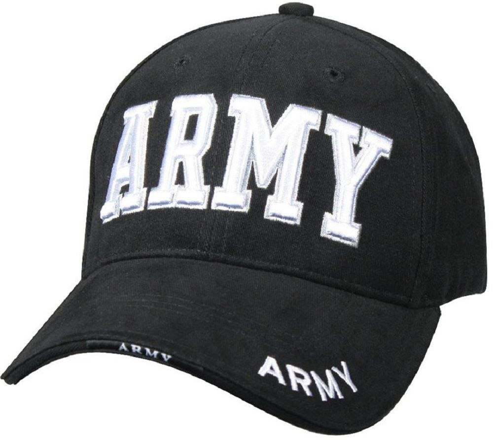 17e7dbecbf45f 9385 Rothco Deluxe Army Embroidered Low Profile Insignia Cap Military Life