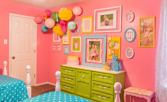 EDIT design HOUSE: GUEST POST: COLORFUL GIRLS ROOM