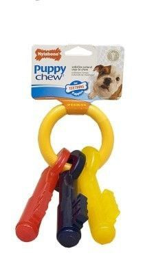 Dog Toys Rubber And Plastic Puppy Teething Keys Large