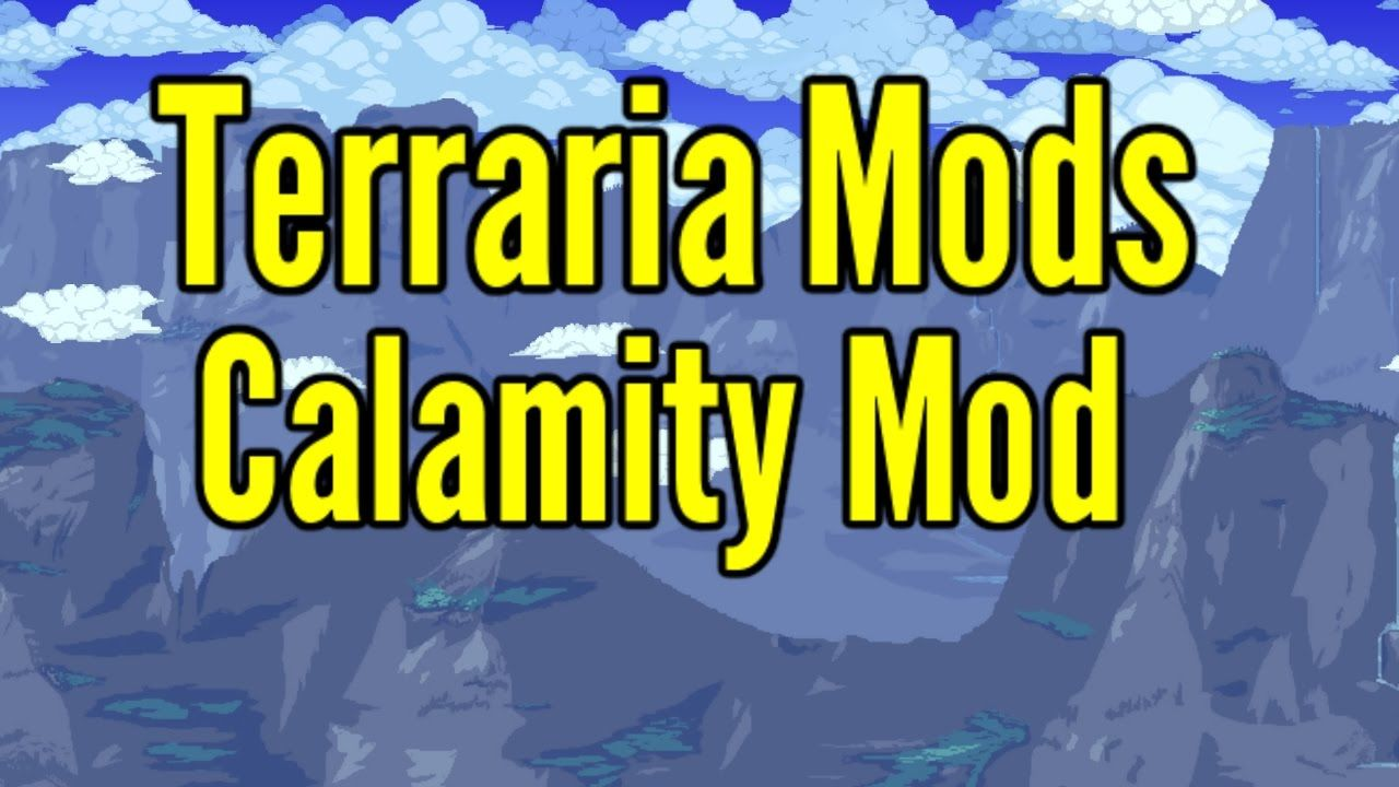 Cool Terraria Calamity Mods Terraria 1 3 4 Calamity Terrarium Cool Stuff