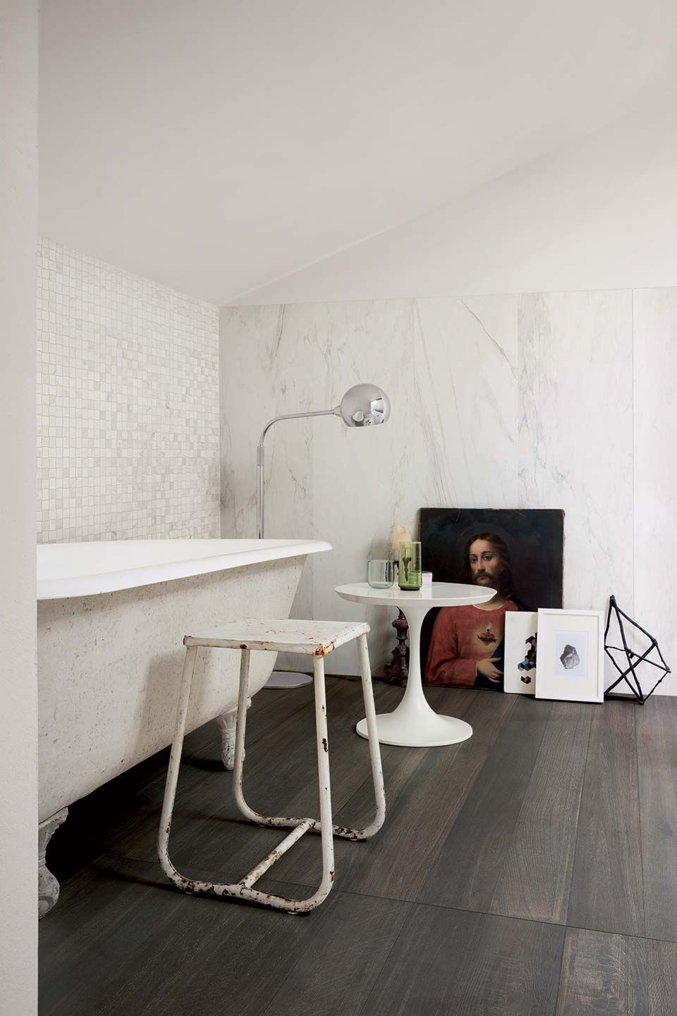 Marbles and stones made of ceramic porcelain tiles: Stones & More ...