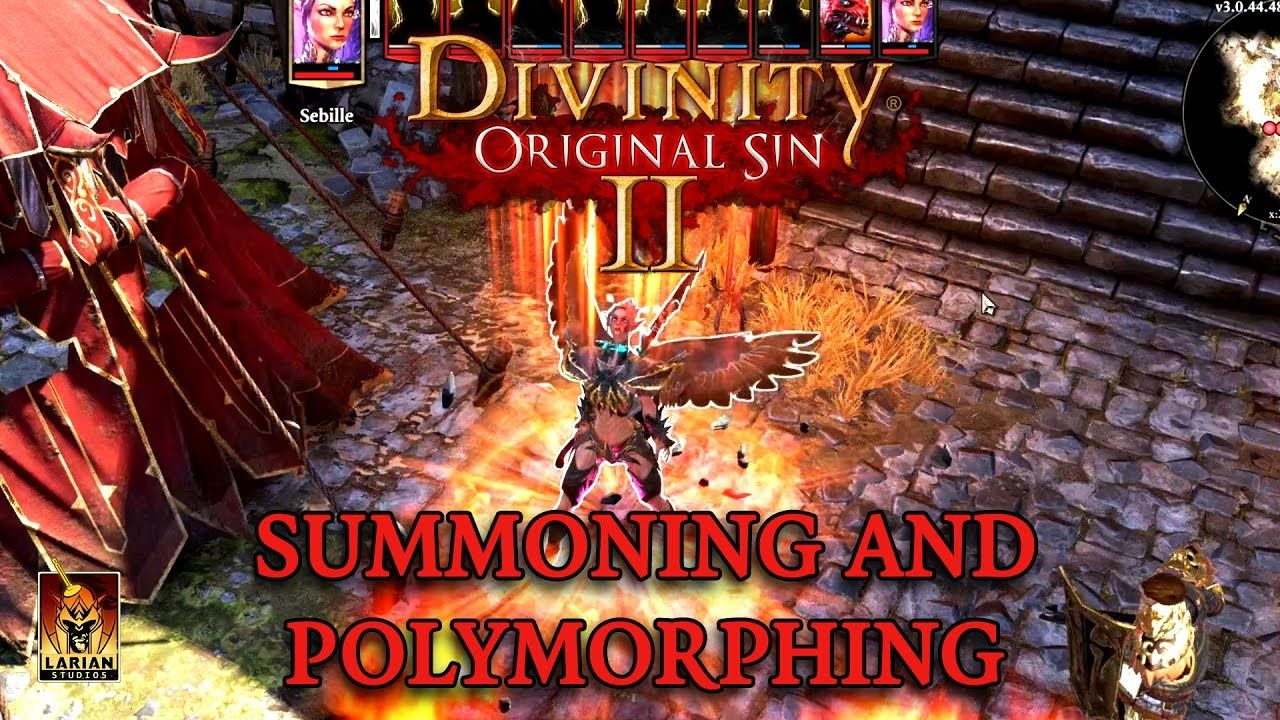 Divinity Original Sin 2 Summoning and Polymorphing