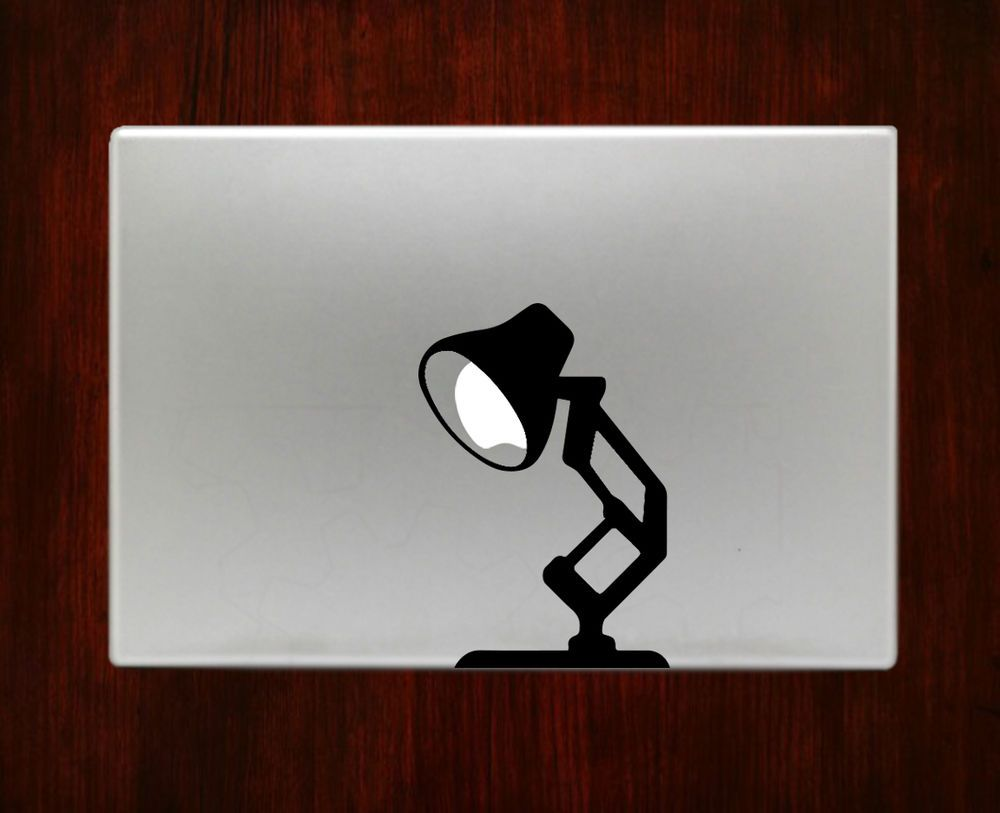 Pixar lamp disney humor laptop decal sticker for macbook 13 15 inch pro air rusticdecal