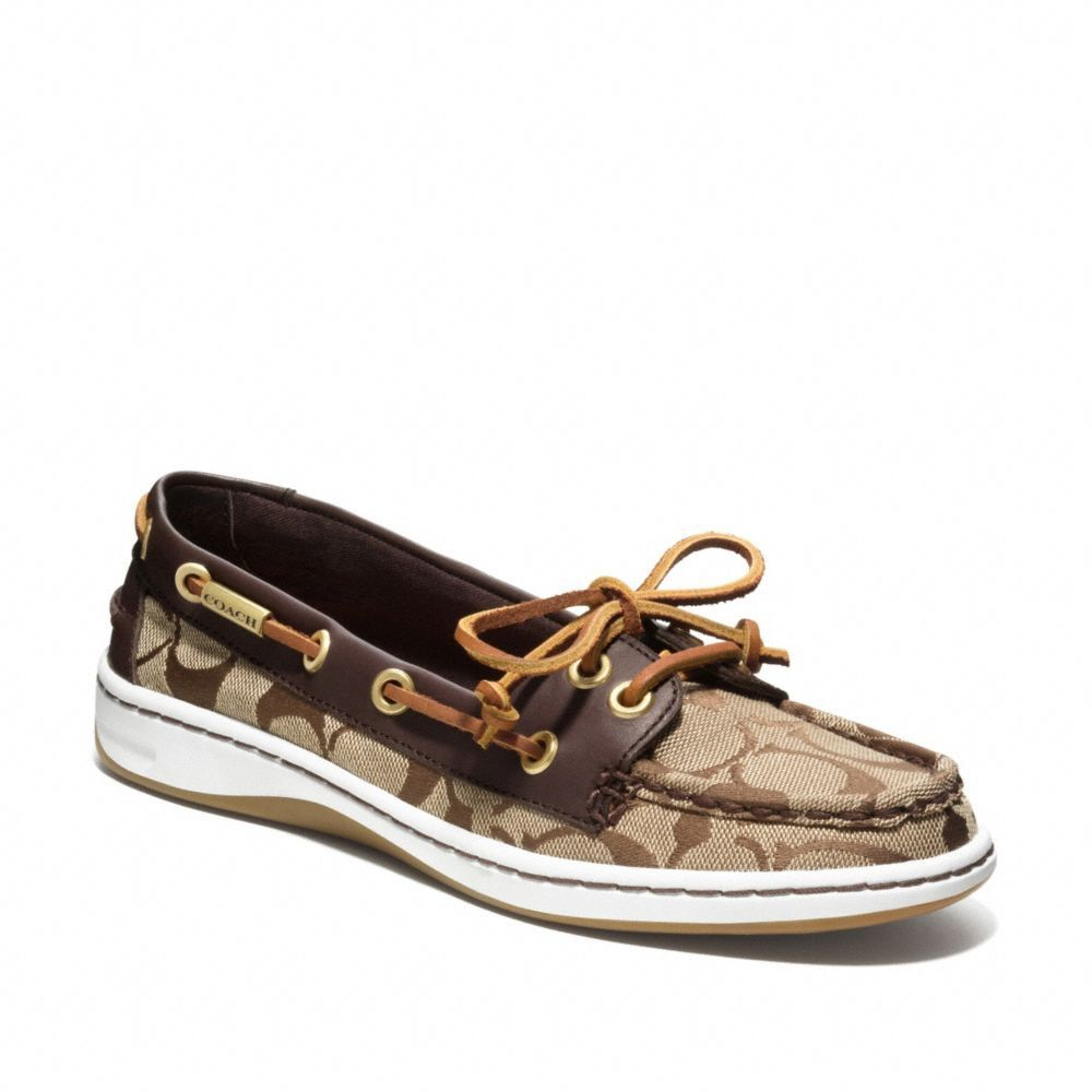 Coach Boat Shoes my first nod to all