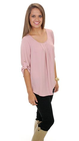 Strong Points Top, Blush :: NEW ARRIVALS :: The Blue Door Boutique