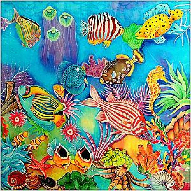underwater painting easy - 960×959