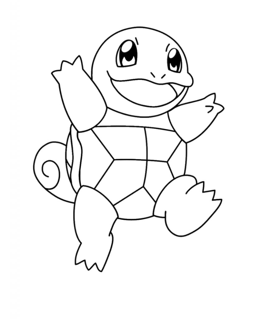 Squirtle Coloring Page In 2021 Pokemon Coloring Pages Pokemon Coloring Coloring Pages Winter