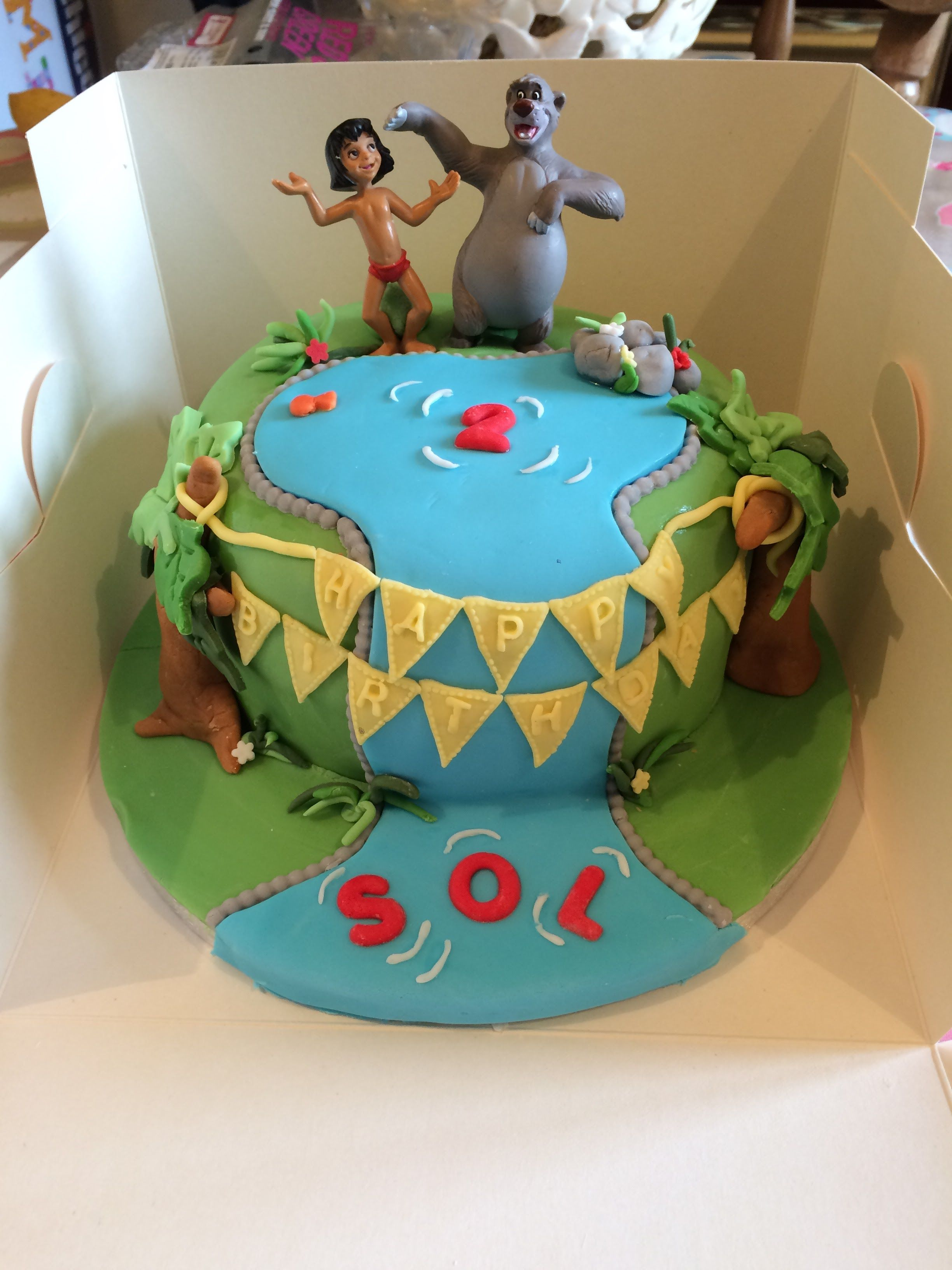 Jungle book cake gluten wheat milk and soya free Tristan