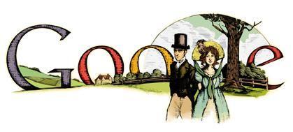 Google celebrates the 200th anniversary of Pride and Prejudice.