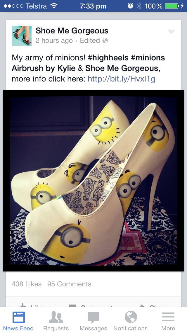 Minions My Favs Pinterest Minions Schuhe Schuhe And Kleider