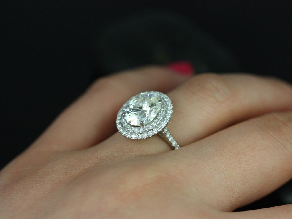 please about i topic wedding brilliant double in engagement me rings round halo cushion ladies img center size show your