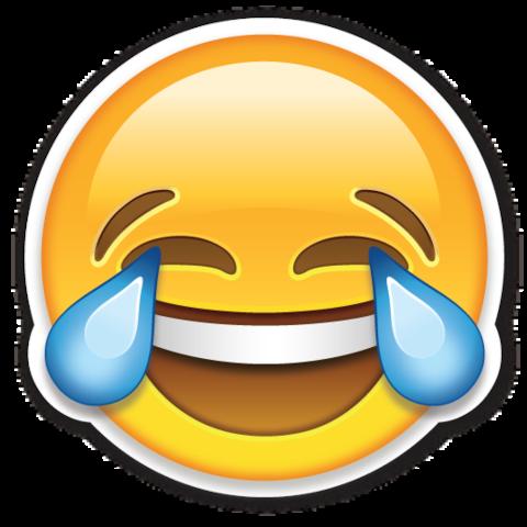 Face With Tears Of Joy Emojistickers Com Immagini Divertenti Emoji Emoticon
