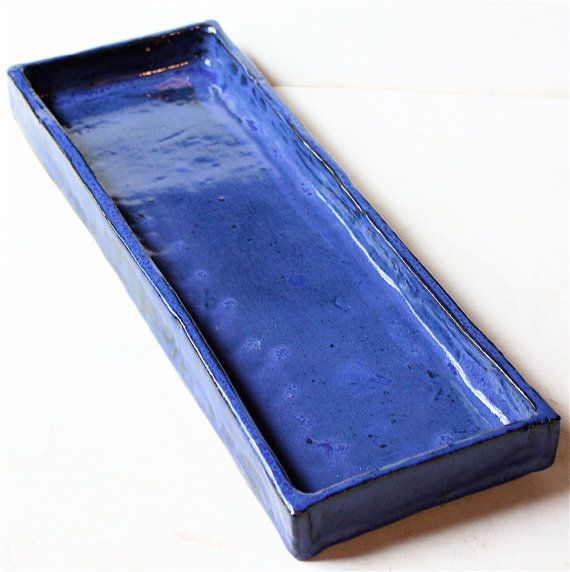 Perfect Organizer Stoneware Tray For Windowsill Kitchen By Virginiawyoming, $76.00