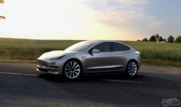 السيارات الكهربائية سيارة تسلا