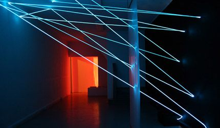 Light Art Installations