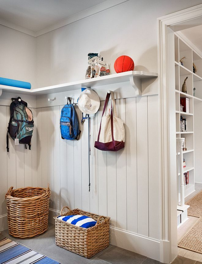 Mudroom Shiplap Wainscoting Ideas Walls