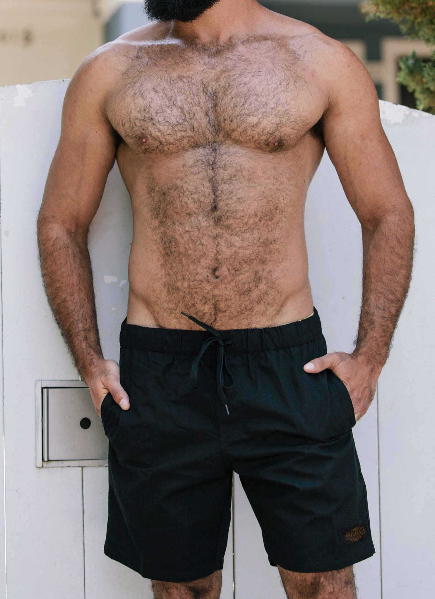 On cue apparel hairy chest