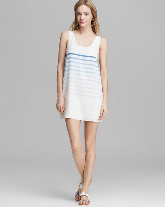 Pin for Later: Encore des vêtements canon pour le pont de l'Ascension ! Robe à rayures en soie Joie Joie Dawna B Silk Dress (174 $ au lieu de 248 $)