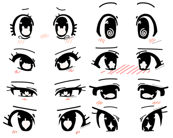 Anime Eye Shape Ideas Anime Eye Drawing Cartoon Eyes Drawing Anime Character Drawing