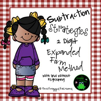 Subtraction Strategies Worksheets Two Digit Expanded Form