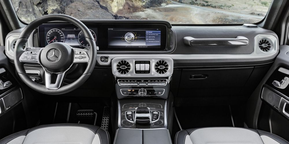 The 2019 Mercedes Benz G Class Will Have Real Cupholders For The