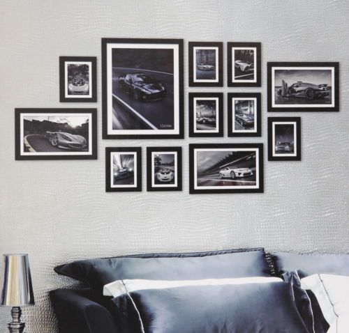 Multi Picture Photo Frame Frames 12 Pieces 150 X 75cm Wall Frames