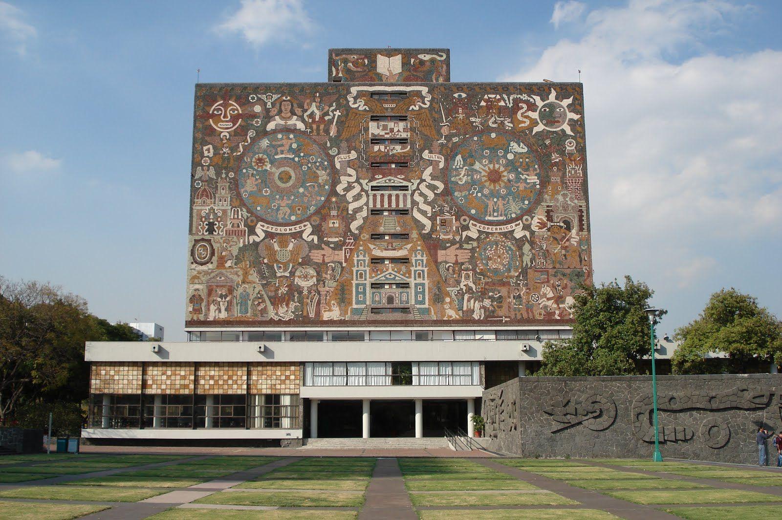 Central Library Unam Mexico City Tours Mexico City University City