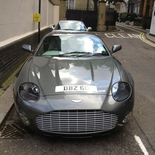 England Luxury Car: Aston Martin Zagato In Mayfair, London AZHAR For More