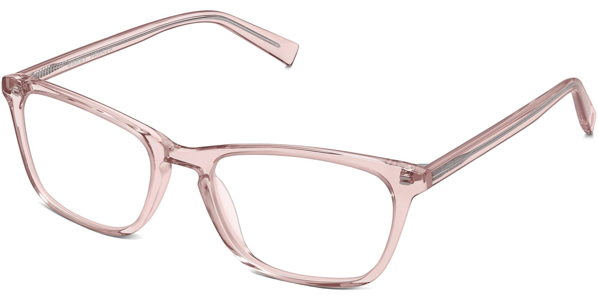 36a64f948a Warby Parker Eyeglasses in Rose Crystal for Women. Welty s keyhole bridge