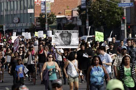 Demonstrators @ Las Angeles