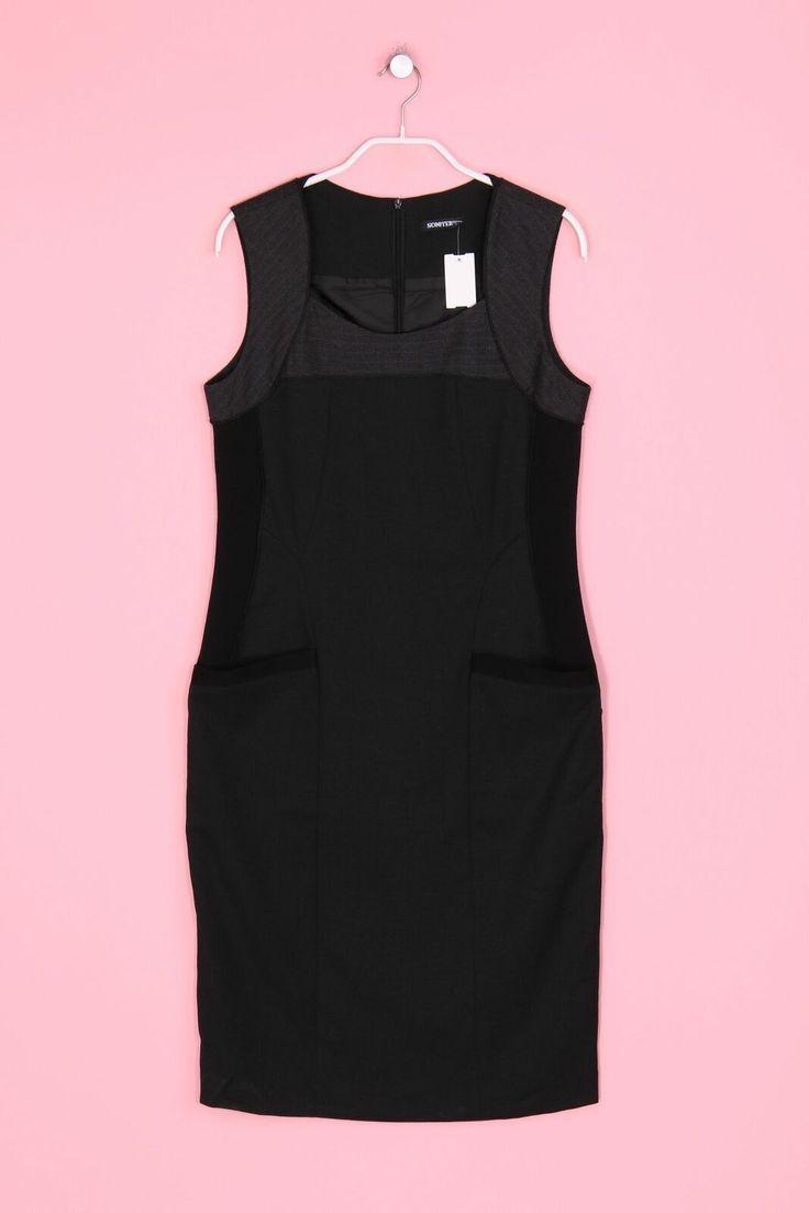Etui-Kleid Damen M Dress eng Grau-Töne SCOOTER - Etuikleid ...