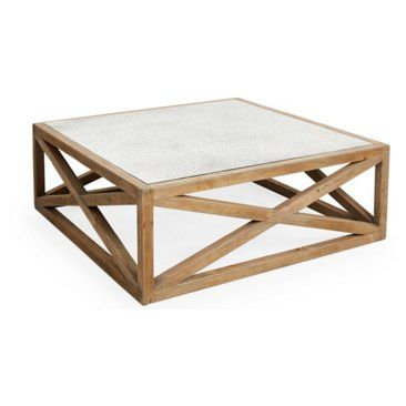 Check Out This Item At One Kings Lane Manning 48 Square Coffee