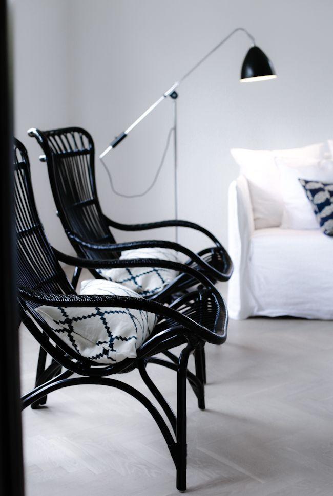 Originals fra Sika Design - Elegant kurvestol i antik kolonihavestil ...