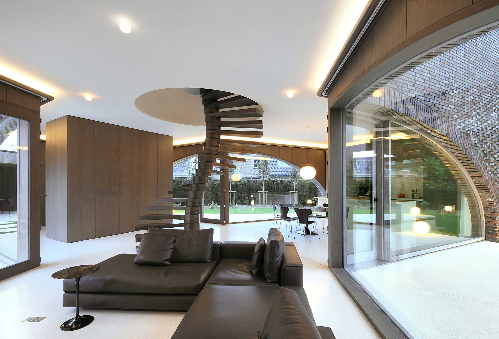 Modern Villa Moerkensheide by Dieter De Vos Architecten | http://www ...